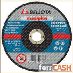 DISCO CORTE ACERO BELLOTA 50421-115 115X3X22´2