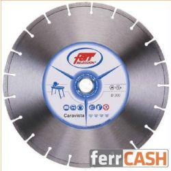 DISCO DIAMANTE FERR C/HUM CARAVIS 300 MM