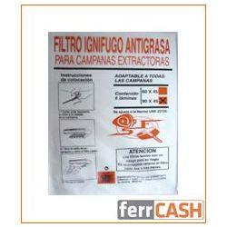 FILTRO CAMPANA SANFOR PAPEL B6PZ 60X45 10097